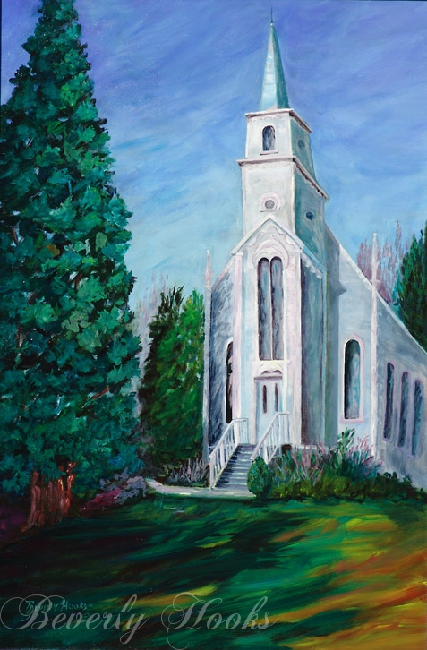 Church at Port Gamble in WA