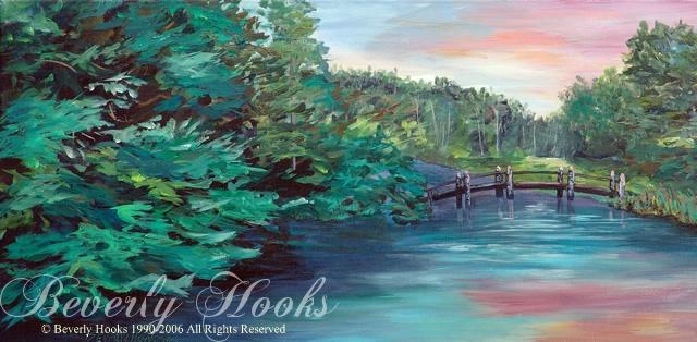 Evening on Fordyce Lake