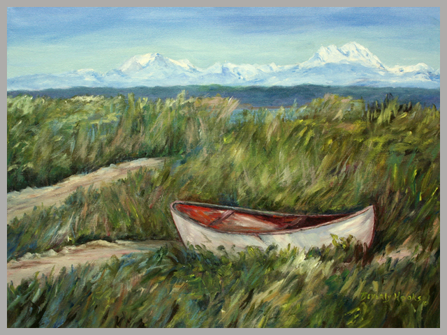 Pt Townsend, WA Impressionist Painting by Beverly Hooks