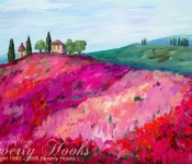 Poppies of Tuscany
