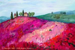 Poppies of Tuscany