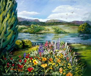 Grasmere, England Painting by Beverly Hooks